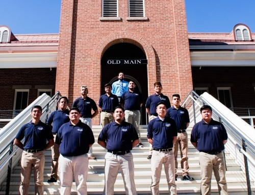 On Wednesdays We Rock Letters: Gamma Chapter at University of Arizona