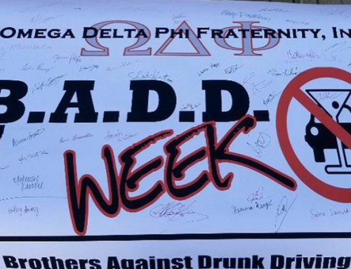 Knights Promote Safe Spring Break Through Brothers Against Drunk Driving Awareness Efforts
