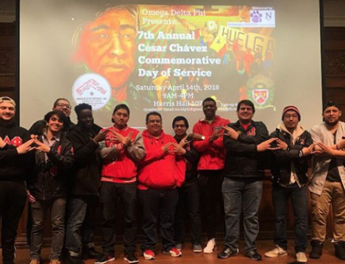 Northwestern University's Alpha Alpha Chapter Commemorates Civil Rights Leader Cesar Chavez Through Day of Service
