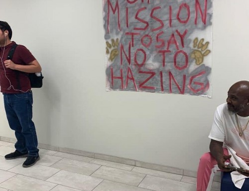 Honorable Knights Participate in National Hazing Prevention Week