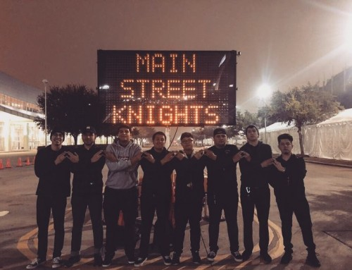 On Wednesdays We Rock Letters: Beta Sigma Chapter at University of Houston Downtown